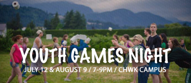 Games Night - All Youth Event