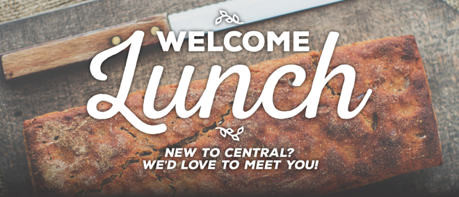 Central Welcome Lunch