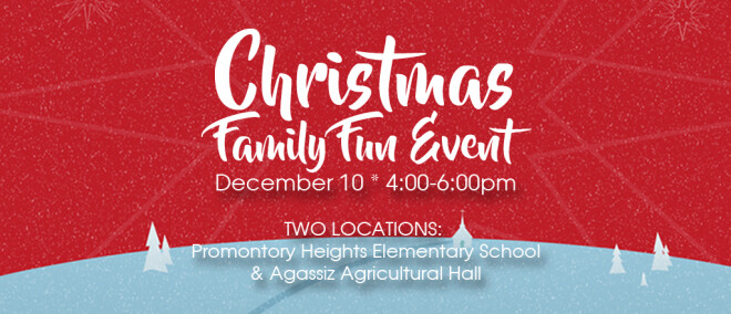 Agassiz Family Christmas Event