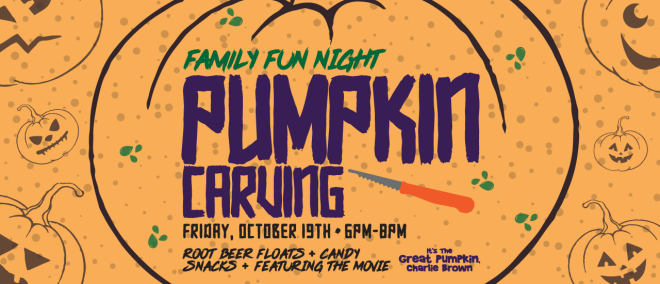 Family Fun Night - Pumpkin Carving