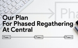 Our Plan for Phased Regathering at Central